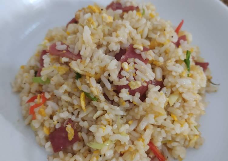 Nasi Goreng Smoked Beef