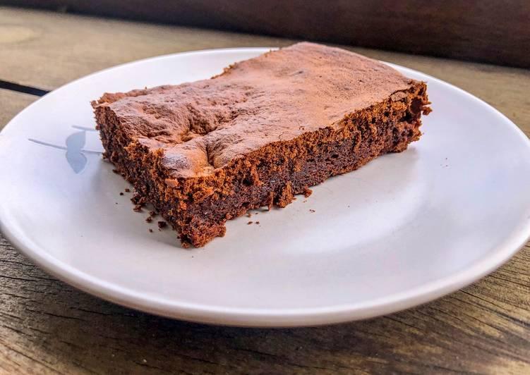 recette Fondant au chocolat et aux noisettes sans beurre délicieux