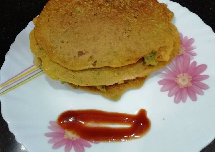 Recipe of Any-night-of-the-week Chickpea pancake