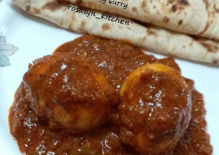 Simple Way to Make Homemade Punjabi Dhaba Style Egg Curry