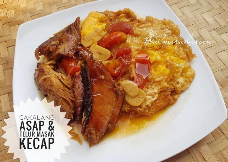 Resep Cakalang Asap Telur Masak Kecap Oleh Eera Harun Cookpad