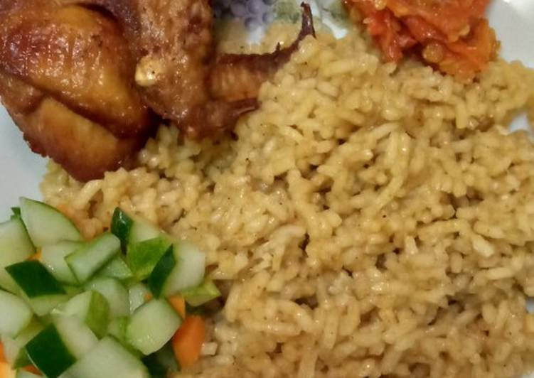 Cara Membuat Nasi Kebuli Ayam simpel