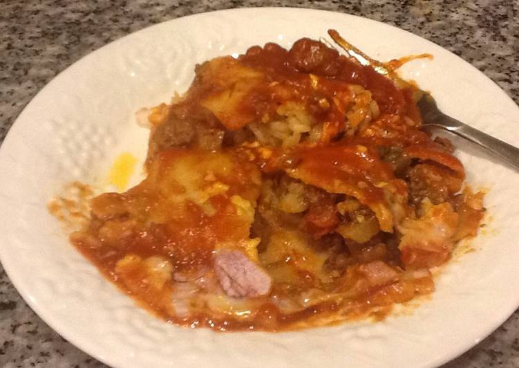 Ground meat enchiladas - Laurie G Edwards