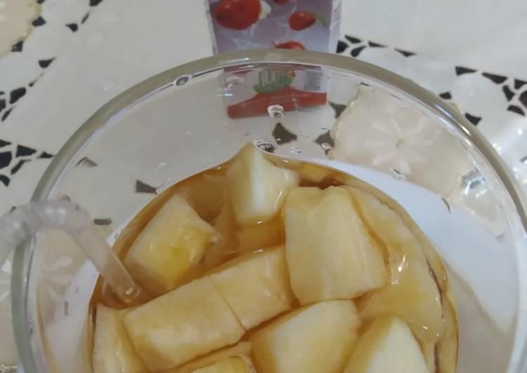 Epal Campur Minuman Epal - resepipouler.com