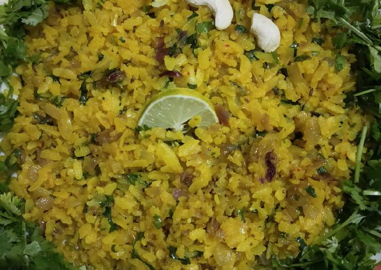 How to Make Super Quick Homemade Poha