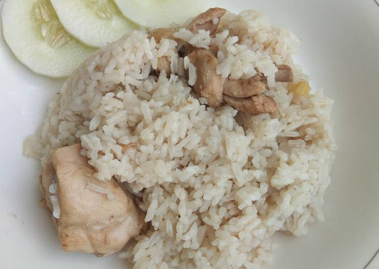 Nasi Tim Ayam ala Bangka