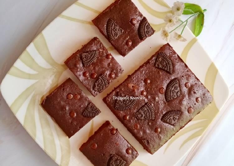 Bagaimana Membuat Shiny Crust Fudgy Brownies, Sempurna