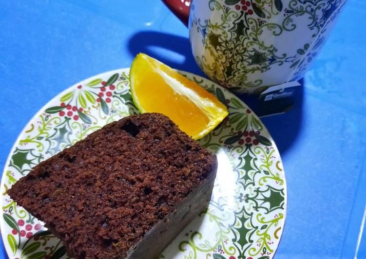 Simple Homemade Chocolate-Orange Cake 🎂