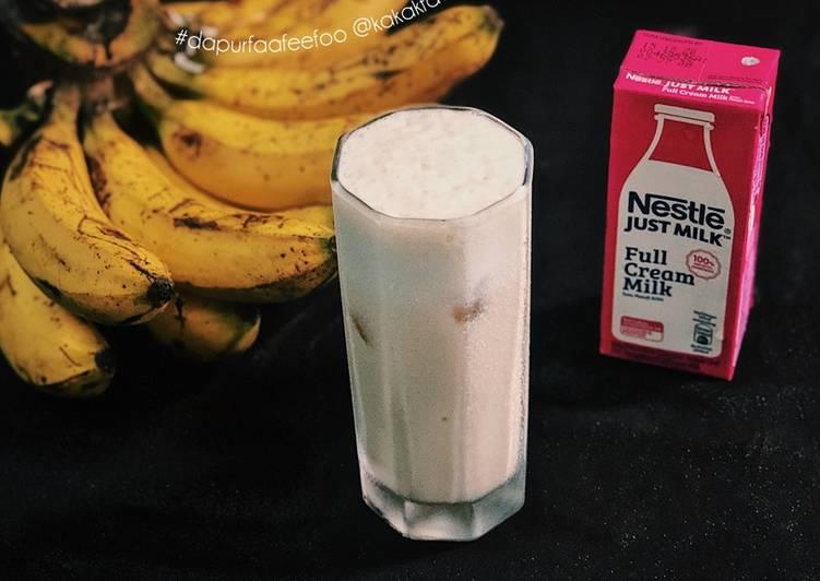 Banana Milk - resepipouler.com