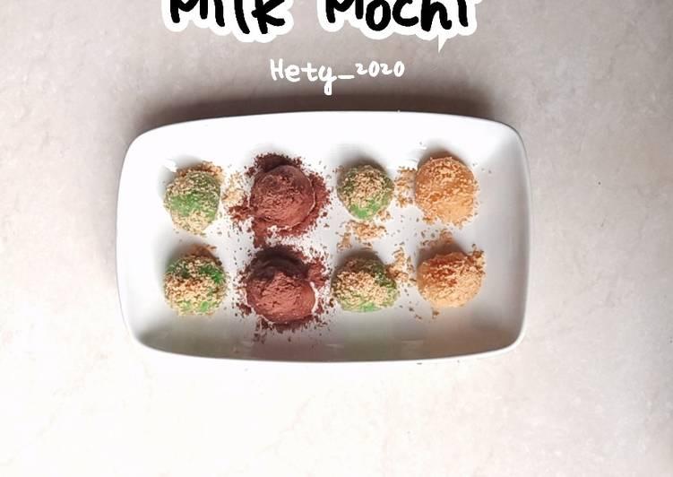 Milk Mochi (Mochi Jepang) - cookandrecipe.com