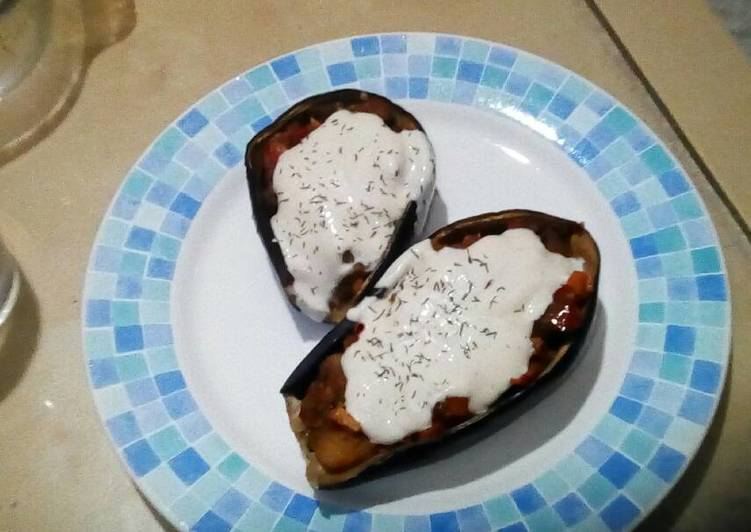 receta berenjenas con salsa de yogur