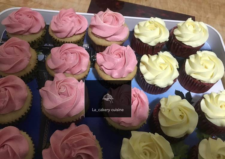 Step-by-Step Guide to Prepare Quick Yummy vanilla cupcakes