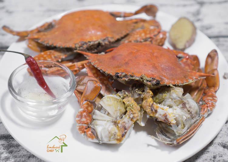 Simple Boiled Crab