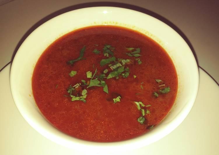 Chorba fric (soupe de blé concassé)