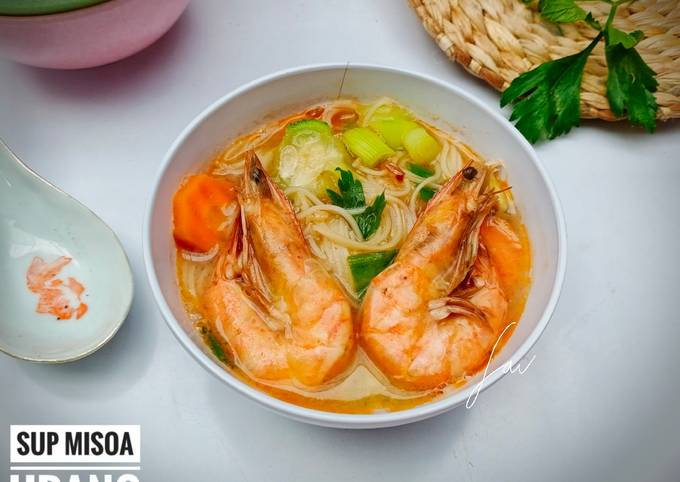 Sup Misoa Udang