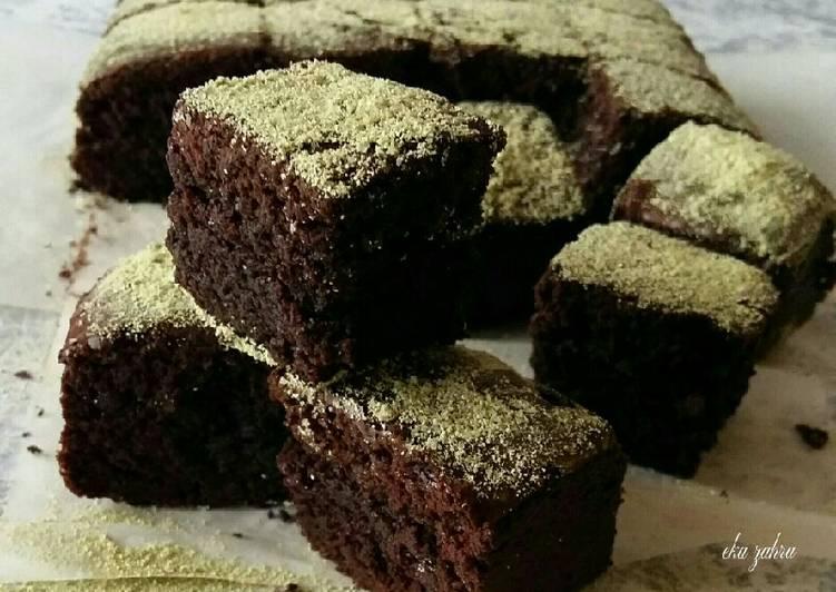 rahasia membuat fudgy matcha brownies  enak resepiayamnet Resepi Ayam Masak Asam Pedas Enak dan Mudah