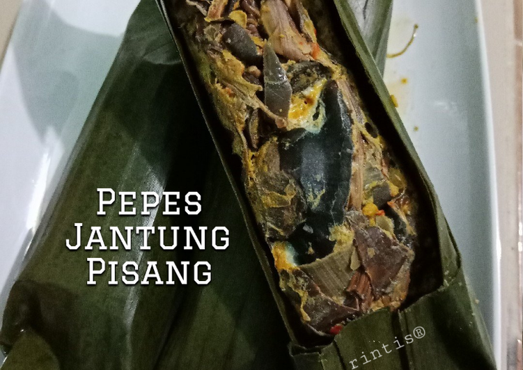 Pepes Jantung Pisang