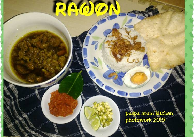 Rawon by Puspa Arum Kitchen