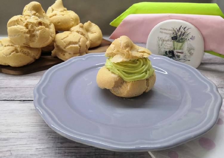 Glutén és tejmentes avokádókrémes fánk recept foto