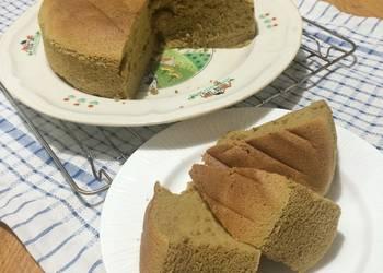 Easiest Way to Make Tasty Ogura Matcha Cake
