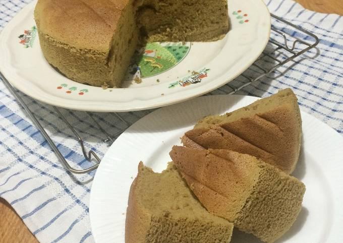 Ogura Matcha Cake