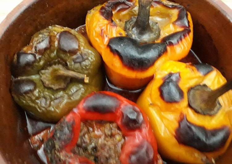 Recipe of Homemade Ultimate stuffed peppers