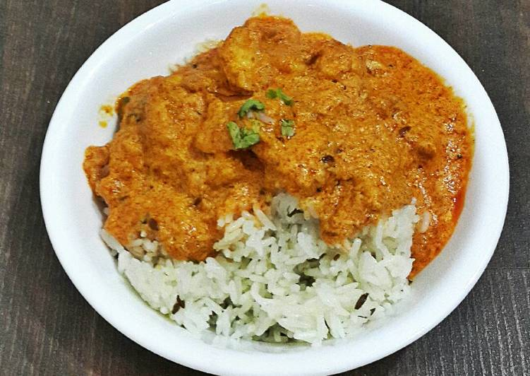 Butter Chicken With Jeera Rice
