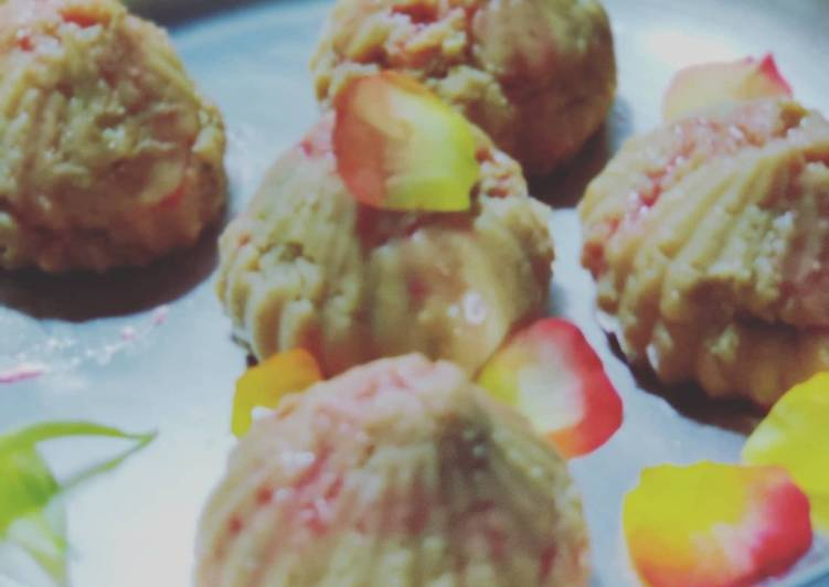 Rose flavoured Modak