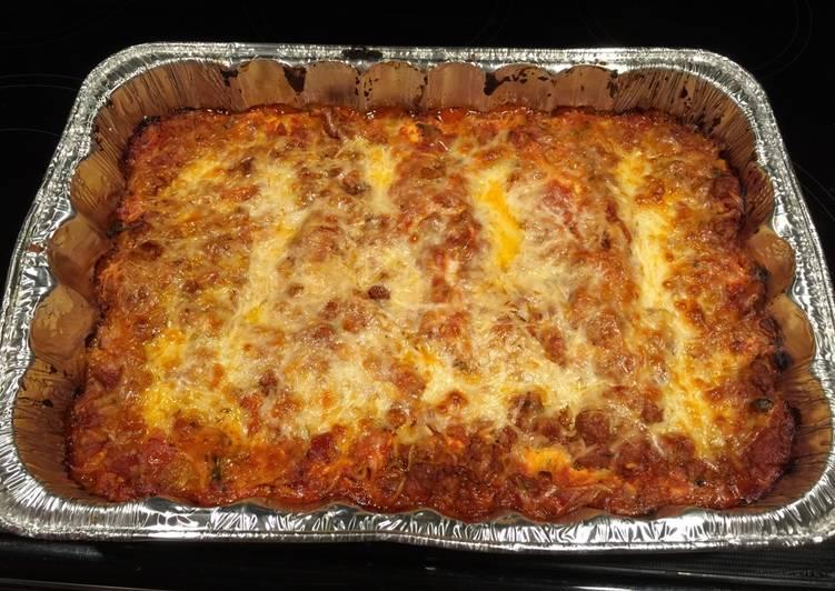 Recipe: Perfect Lasagna