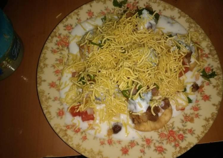 5 Minute Recipe of Winter Dahi Sev Puri
