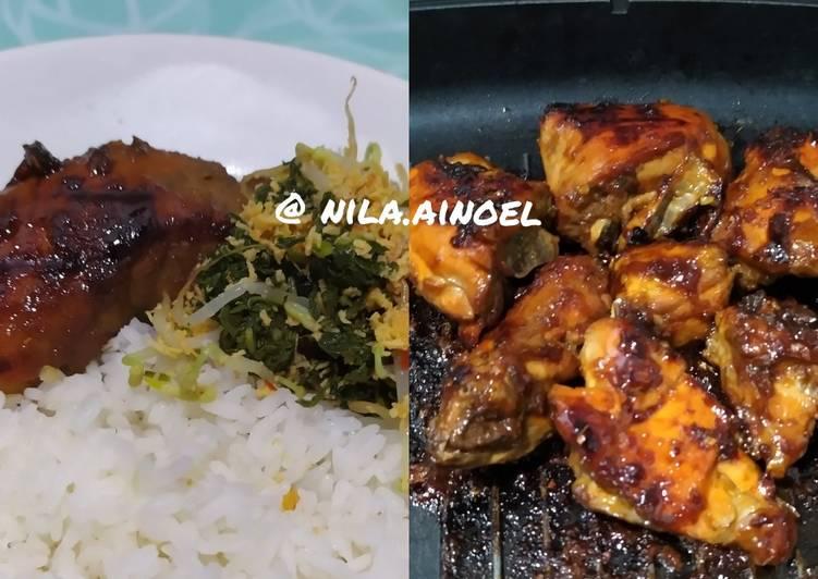 Ayam panggang madu teflon - cookandrecipe.com