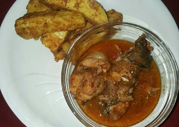 Recipe of Homemade Yamrita with catfish soup