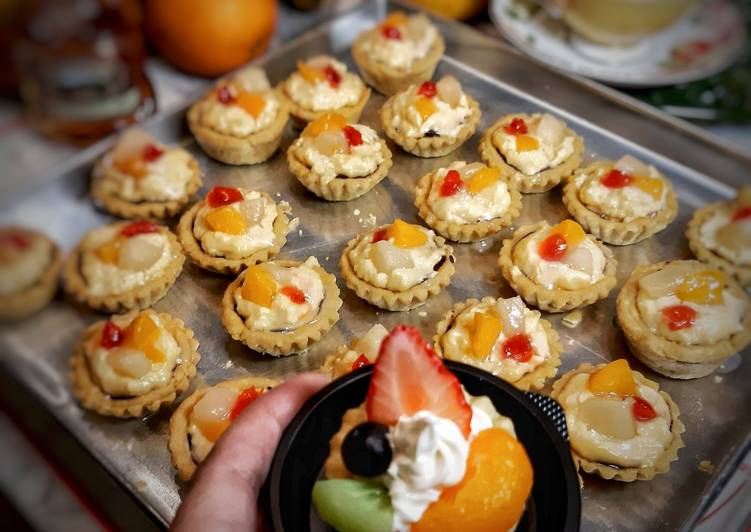 Resep Mini fruit pie Paling Joss