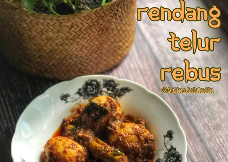 Rendang Telur Rebus - velavinkabakery.com
