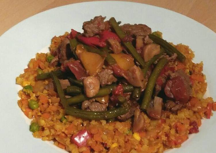 Recipe: Delicious Vickys Jerk Beef Stew GF DF EF SF NF