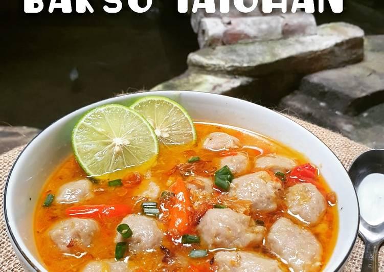 Bakso Daging Sapi Kuah Taichan
