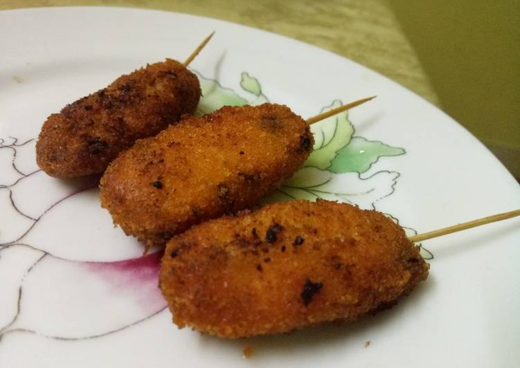 Chicken shrimp pop