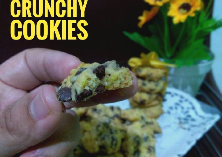 19. Vanilla Choco Crunchy Cookies
