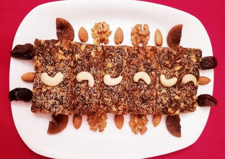 Sugarfree Dates And Nuts Bars