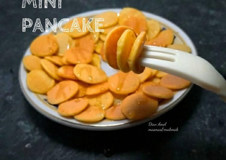 Resep Mini pancake Top