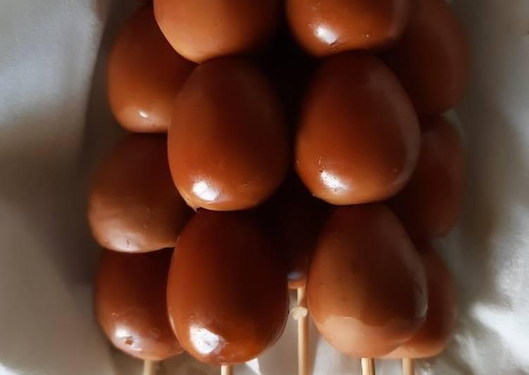Sate Telur Puyuh Ala Angkringan