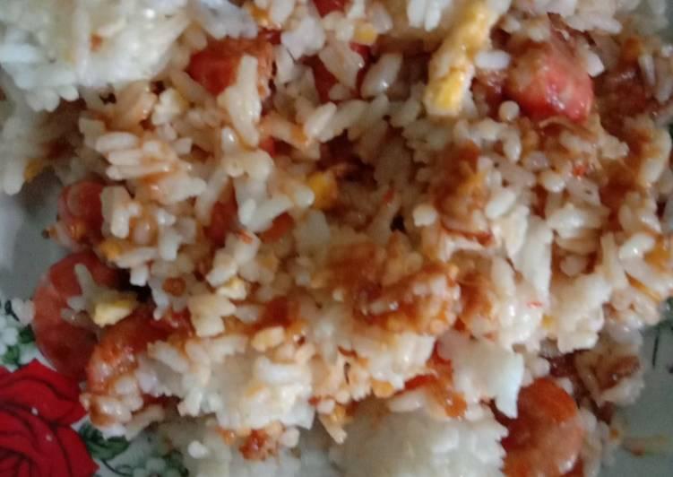 Nasi basanga udang tempoyak
