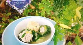 Hình ảnh món Canh bắp bí ngòi nhồi thịt
