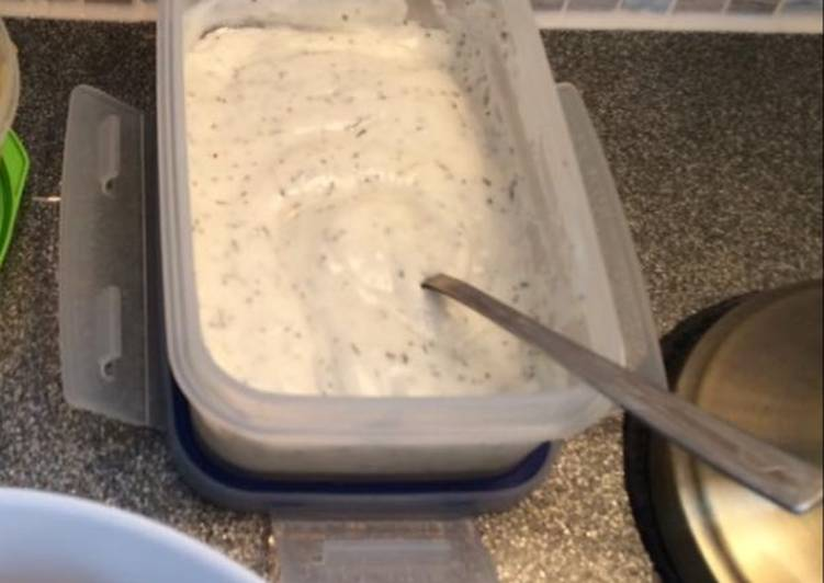 Steps to Prepare Any-night-of-the-week Kebab shop style garlic sauce