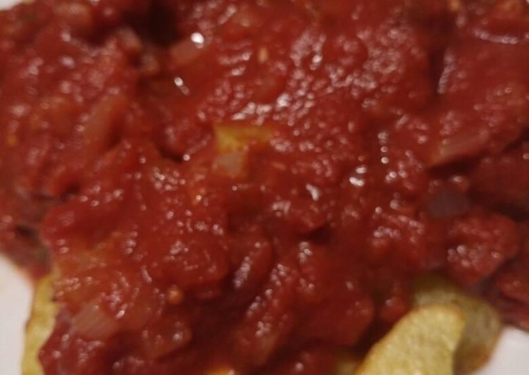 Recipe: Tasty Patatas Bravas tapas