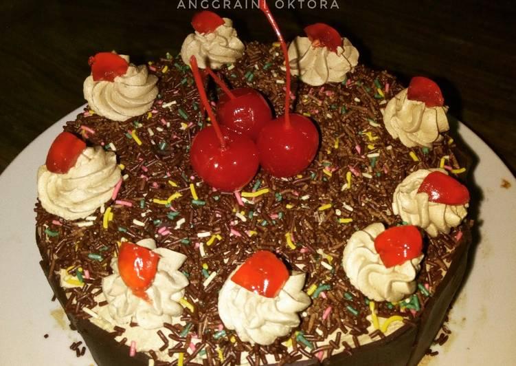 Blackforest Cake #Seninsemangat