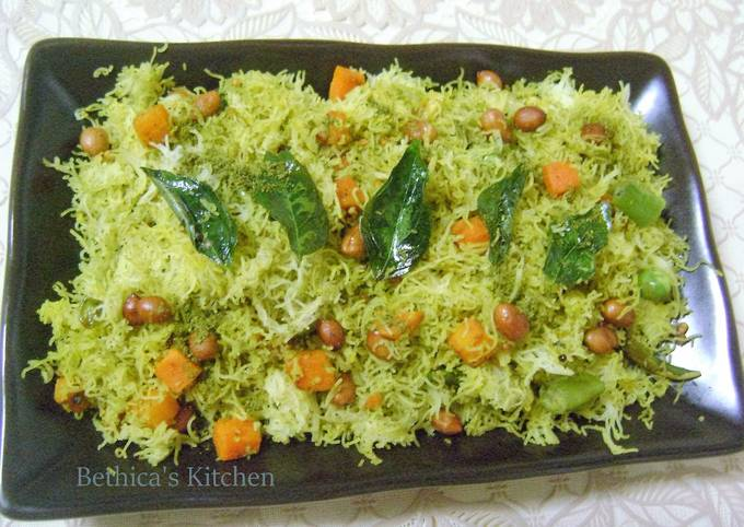 Recipe of Ultimate Idiyappam Upma (String Hoppers – South Indian Snack)