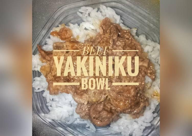 #3 Beef Bowl Yakiniku