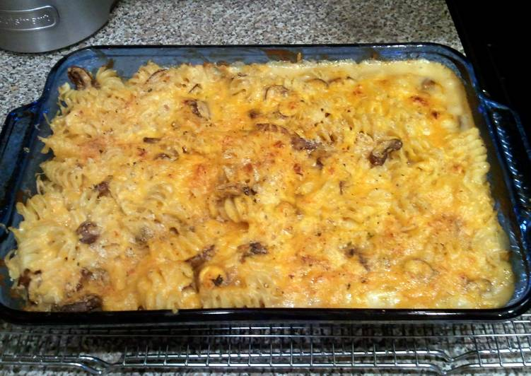 Easiest Way to Cook Delicious Dickeyd' s cheesy tuna casserole