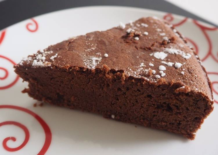 Recette De Gâteau au chocolat avec de la farine de coco